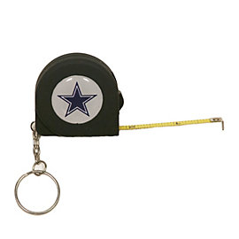 Dallas Cowboys Tape Measure Keychain