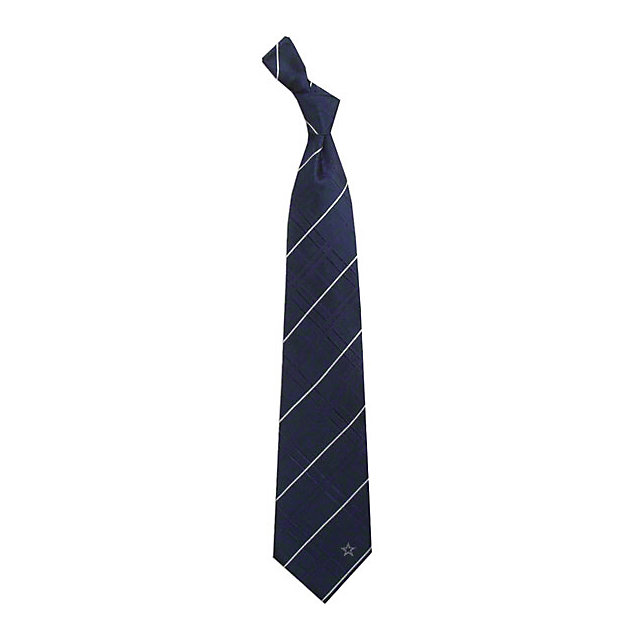 Dallas Cowboys Blue Oxford Woven Silk Necktie