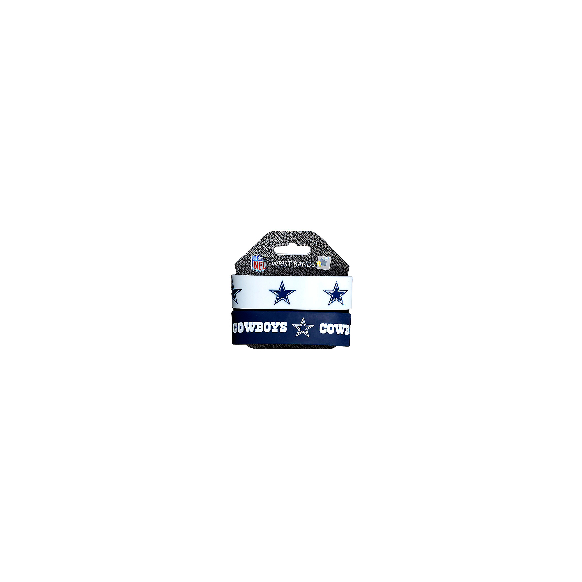 Dallas Cowboys Wide Wristband Twin Pack