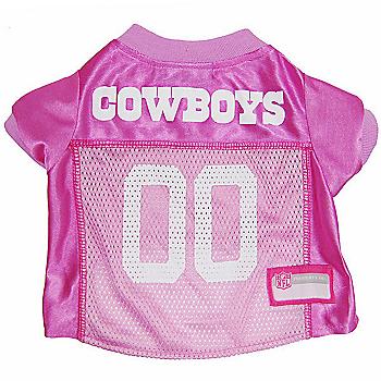 11b7d41fa Dallas Cowboys Pink Pet Jersey