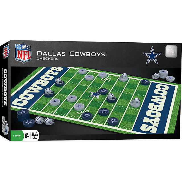 Dallas Cowboys Field Checkers