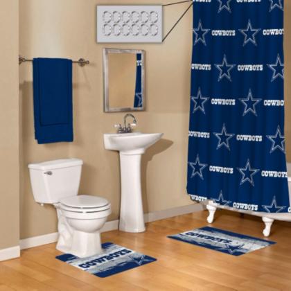 dallas cowboys 15 piece bath set   bath   home & office