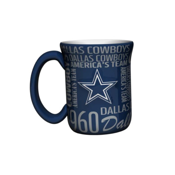 Dallas Cowboys Sculpted Spirit Mug