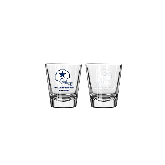 Dallas Cowboys Vintage Collectible Shot Glass