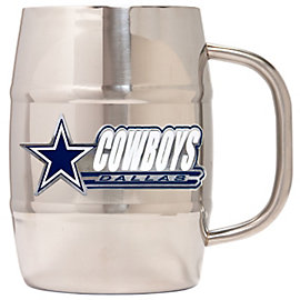 Dallas Cowboys Double Wall Stainless Barrel Mug