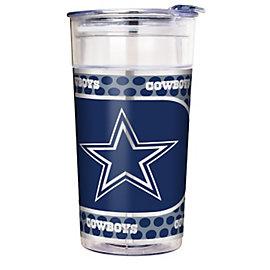 Dallas Cowboys 22 oz Acrylic Party Cup with Metallic Wrap