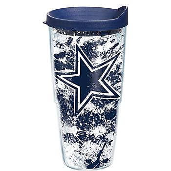 Dallas Cowboys Tervis Splatter 24 oz Tumbler