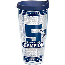 Dallas Cowboys Tervis 5-Time Champions 24 oz Tumbler