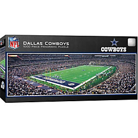 Dallas Cowboys 1,000 Piece Panoramic Stadium Puzzle