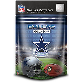Dallas Cowboys 100 Piece Kids Puzzle
