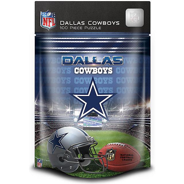 Dallas Cowboys 100 Piece Kids Puzzle