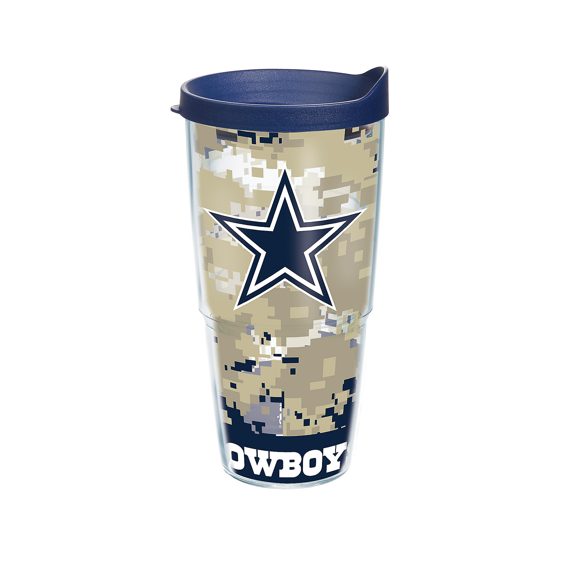 Dallas Cowboys Tervis 24 oz. Digital Camo Tumbler