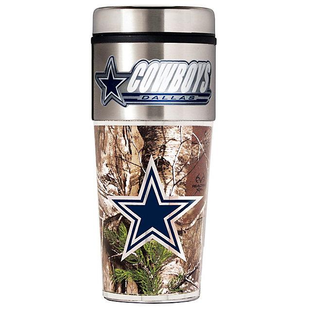 Dallas Cowboys RealTree Tumbler