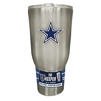 Dallas Cowboys The Keeper 32 oz Stainless Steel Tumbler