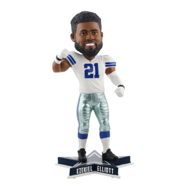 """Dallas Cowboys Ezekiel Elliott """"Feed Me"""" Bobblehead"""