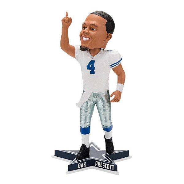 "Dallas Cowboys Dak Prescott ""Pointing"" Bobblehead"