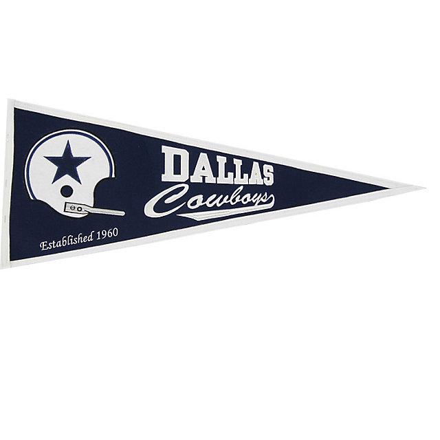 Dallas Cowboys Traditional Throwback Pennant
