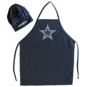 Dallas Cowboys Chef Hat & Apron