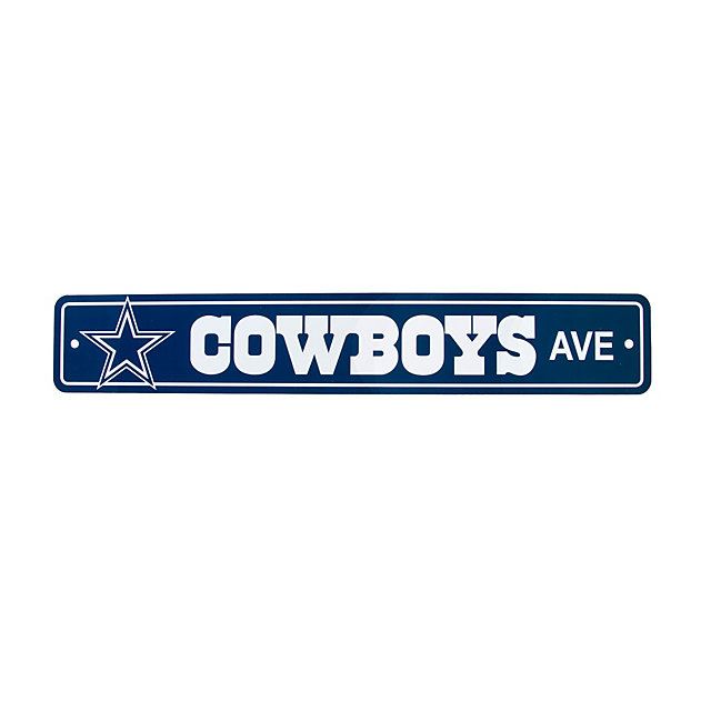 Dallas Cowboys Street Sign Home Decor Home Office