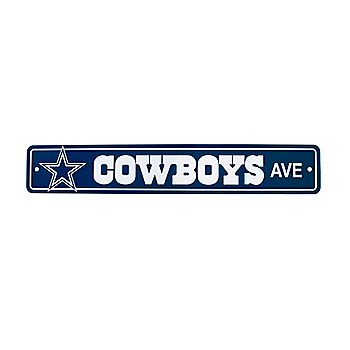 Dallas Cowboys Street Sign