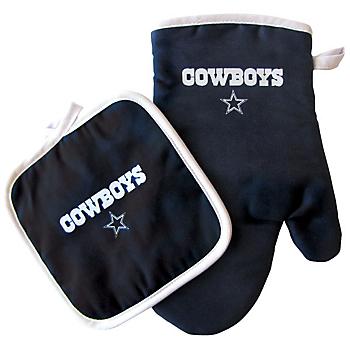 Dallas Cowboys Oven Mitt and Pot Holder Set