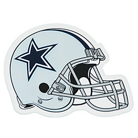 Dallas Cowboys Helmet Decal - 5.5 Inch