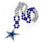 Dallas Cowboys Medallion Beads Necklace