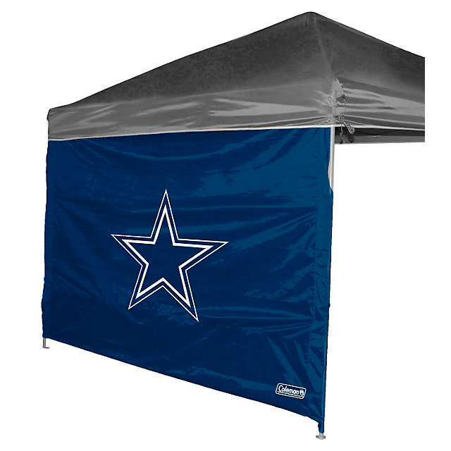 Dallas Cowboys 10 X 10 Straight Leg Canopy Wall Outdoor