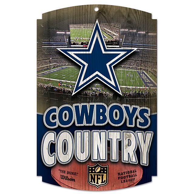Home Decor Stores Dallas: Dallas Cowboys Country Wood Sign