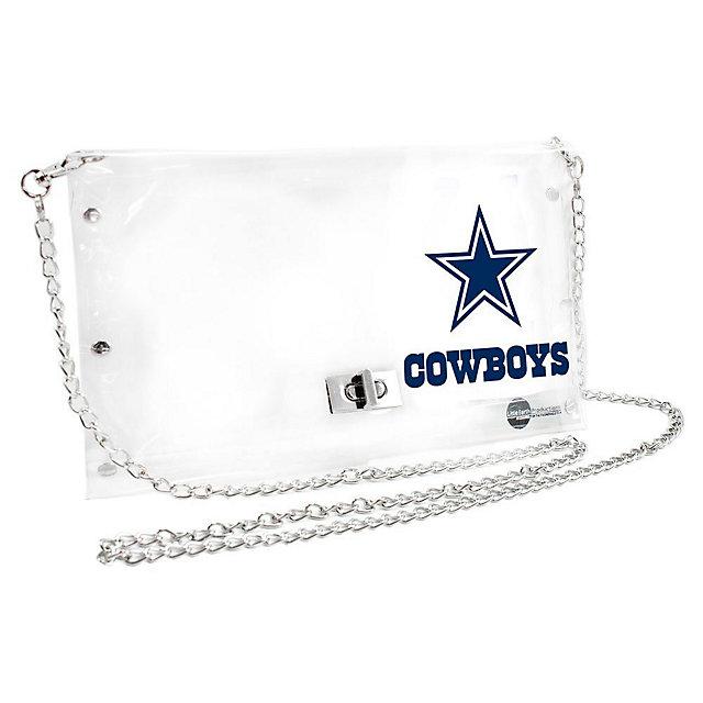 Dallas Cowboys Clear Envelope Purse
