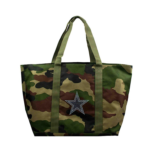 Dallas Cowboys Camo Bling Tote