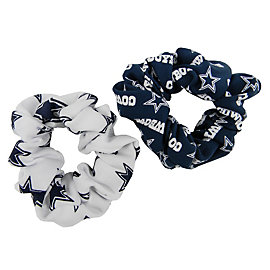 Dallas Cowboys Hair Twist Scrunchie - 2 Pack