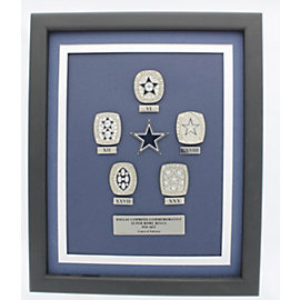 Dallas Cowboys 5-Time Championship Ring Pin Set