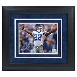 Dallas Cowboys Emmitt Smith Autographed 8x10 Framed Photo