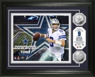 Dallas Cowboys 13 x 16 Tony Romo Silver Coin Photo Mint