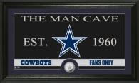 Dallas Cowboys Man Cave Photo Mint