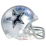 Dallas Cowboys Charles Haley Autographed Mini Helmet