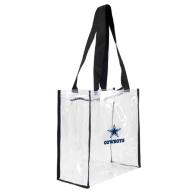 Dallas Cowboys Clear Square Tote