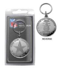 Dallas Cowboys Super Bowl Champions Keyring