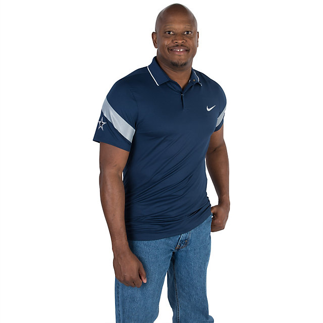 Dallas Cowboys Nike Golf Momentum Fly Framing Commander Polo