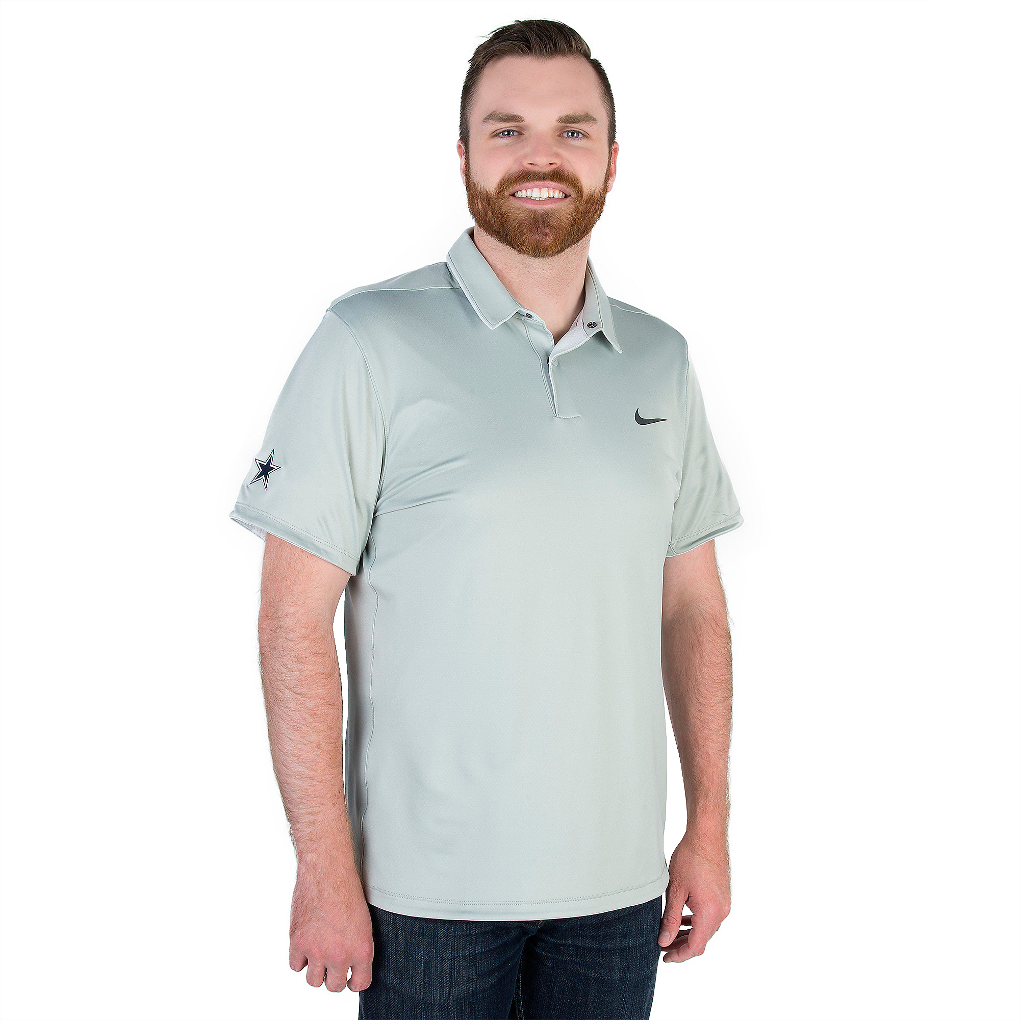 Dallas Cowboys Nike Golf Momentum Fly UV Reveal Polo