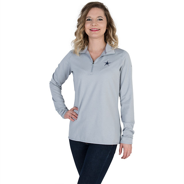 Dallas Cowboys Womens Nike Golf Lucky Azalea 1/2 Zip 2.0 Pullover