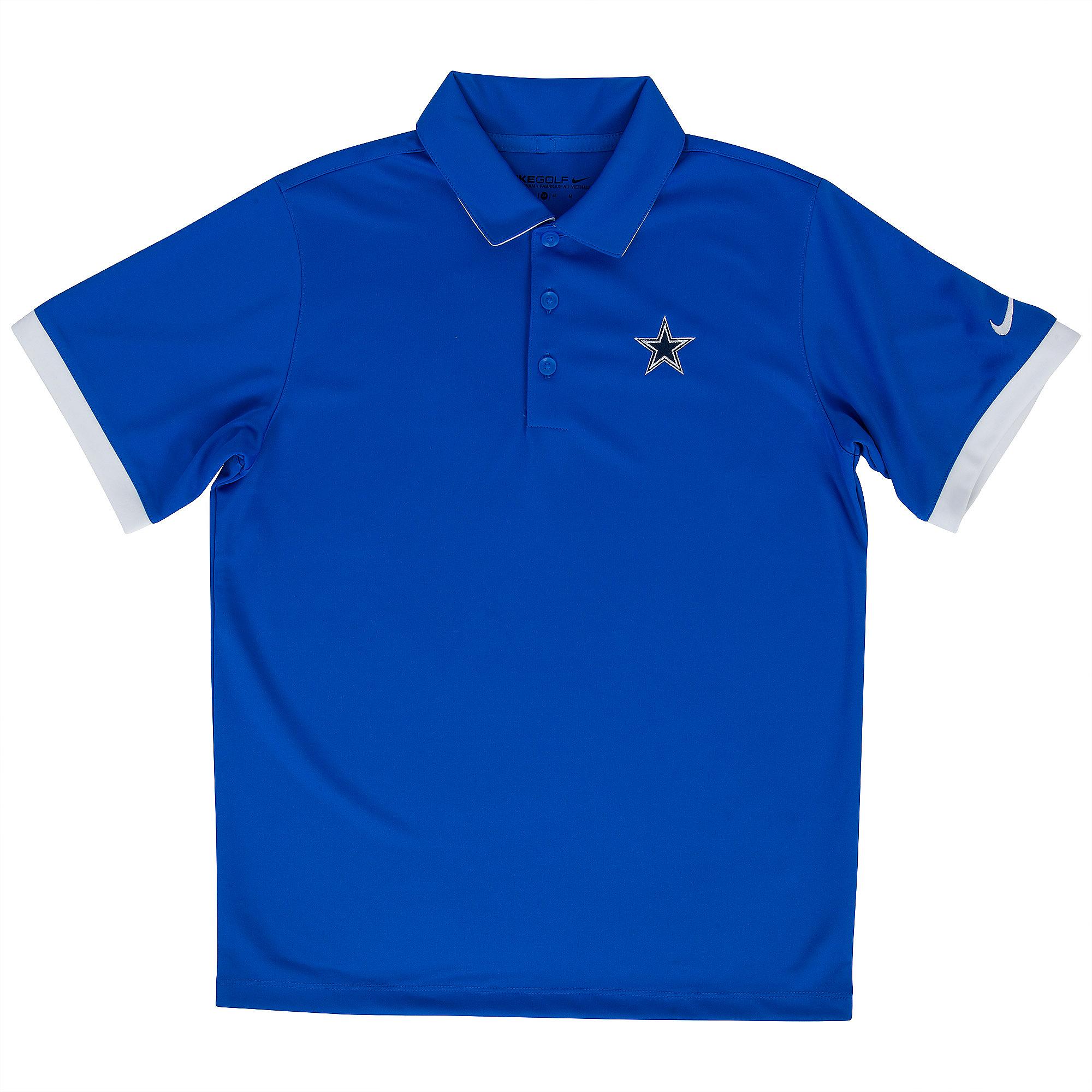 Dallas Cowboys Nike Golf Boys Icon Polo