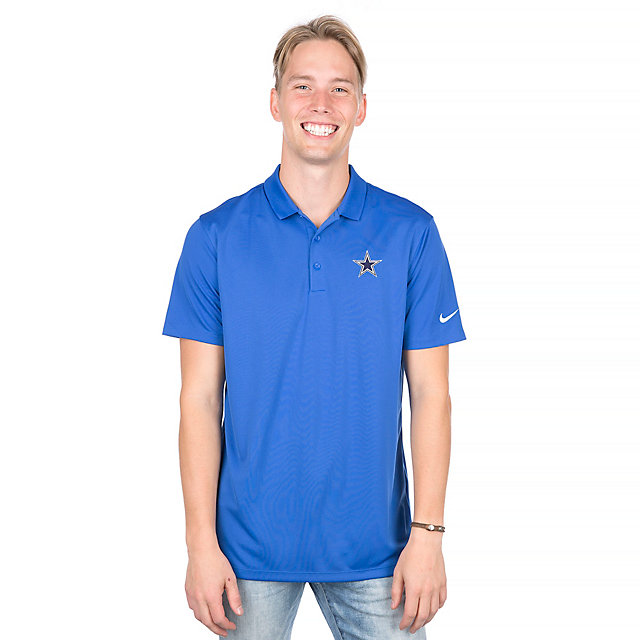 Dallas Cowboys Nike Golf Victory Solid Polo