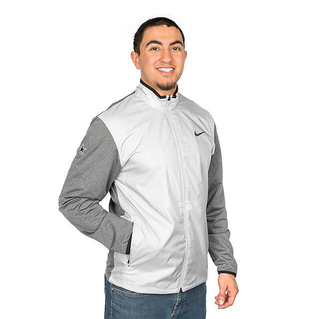 Dallas Cowboys Nike Golf Half-Zip Shield Jacket