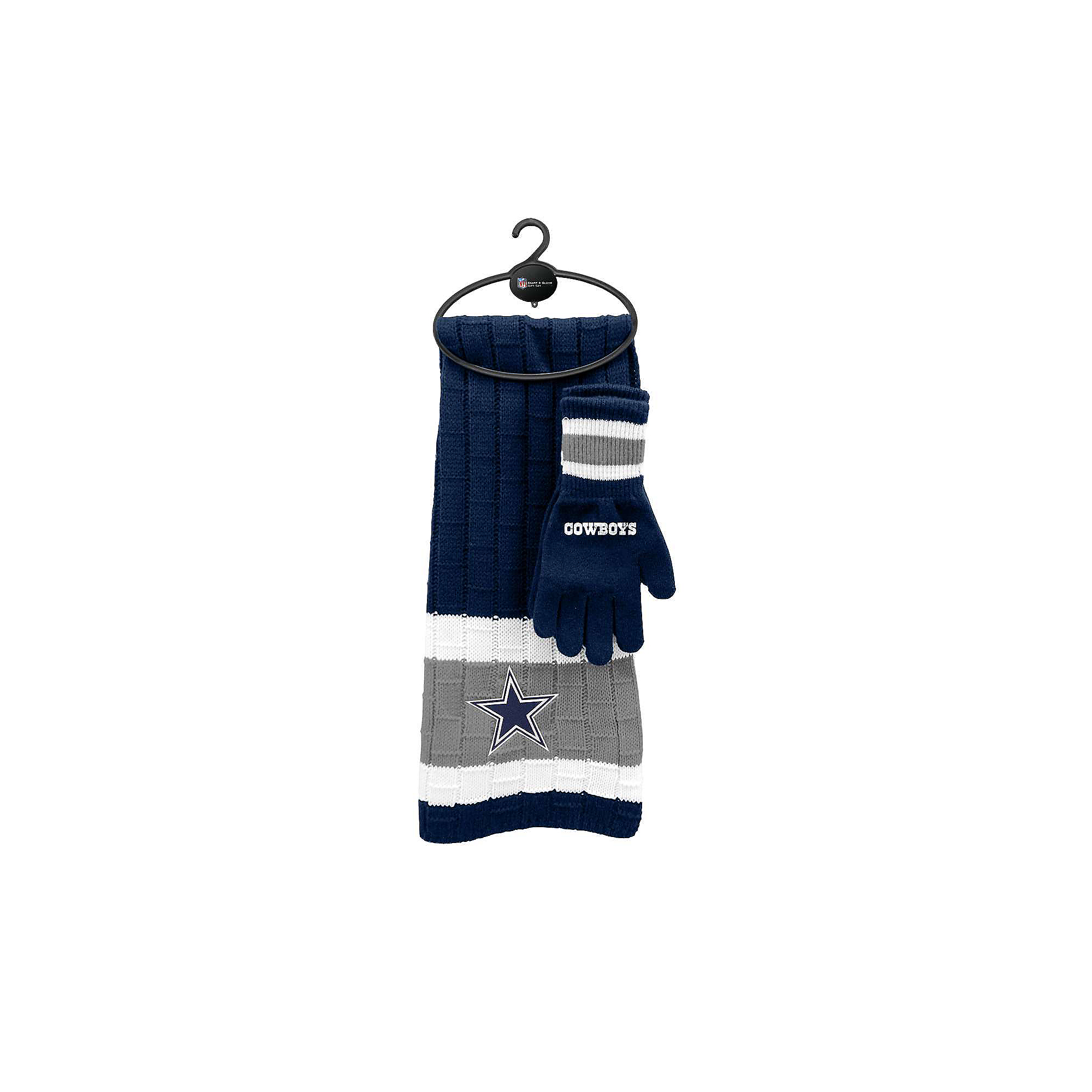 Dallas Cowboys Scarf Glove Gift Set