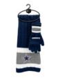 Dallas Cowboys Scarf Glove Gift Set