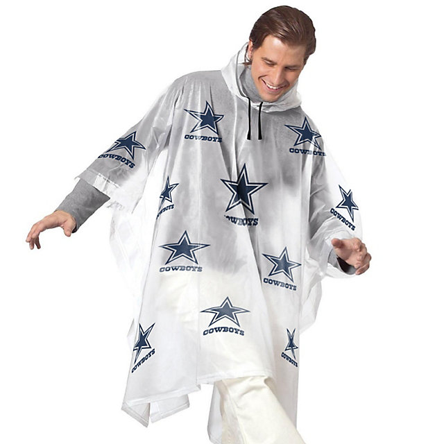 Dallas Cowboys Rain Poncho
