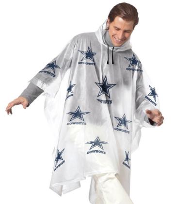 dallas cowboys rain poncho fan gear tailgating accessories cowboys catalog dallas cowboys pro shop