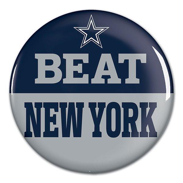 Dallas Cowboys Beat New York Button